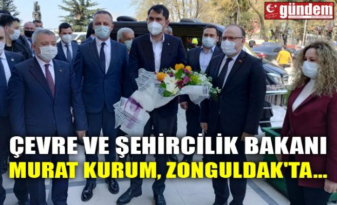 ÇEVRE VE ŞEHİRCİLİK BAKANI MURAT KURUM, ZONGULDAK'TA...