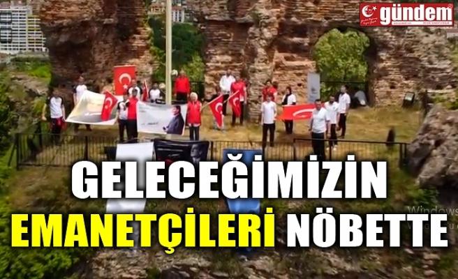 """""""GELECEĞİMİZİN EMANETÇİLERİ NÖBETTE"""""""