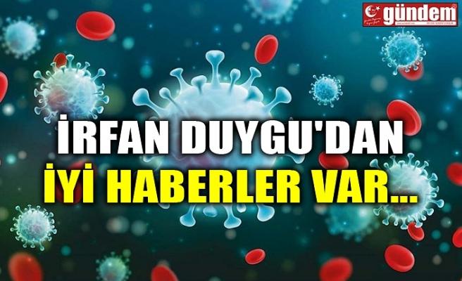 İRFAN DUYGU'DAN İYİ HABERLER VAR...