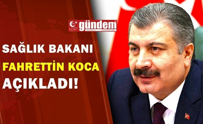 Sağlık Bakanı Fahrettin Koca açıkladı. Güvenle eski günlerimize dönmek için 3 şart