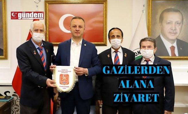 Selim Alan'a ziyaret