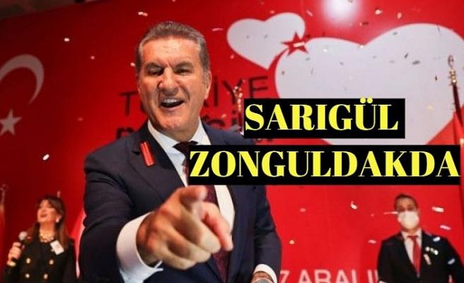 Türkiye Değişim Partisi Genel Başkanı Mustafa Sarıgül Zonguldak'a geldi.