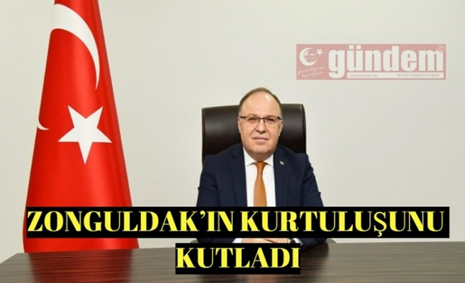 VALİ TUTULMAZ,KURTULUŞUNUN 100'ÜNCÜ YILINI KUTLADI