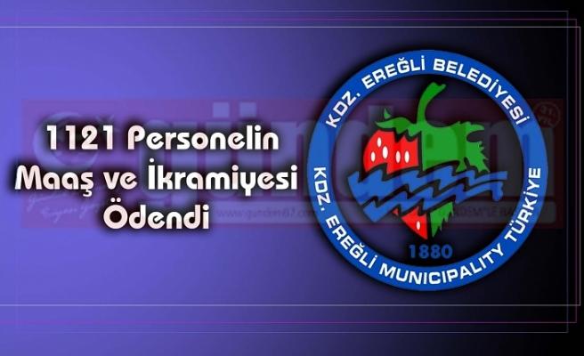 1121 Personelin Maaş ve İkramiyesi Ödendi