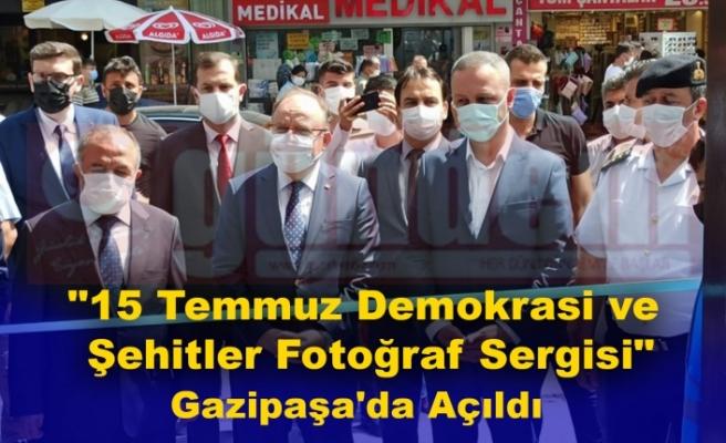 """""""15 Temmuz Demokrasi ve Şehitler Fotoğraf Sergisi"""" Açıldı."""