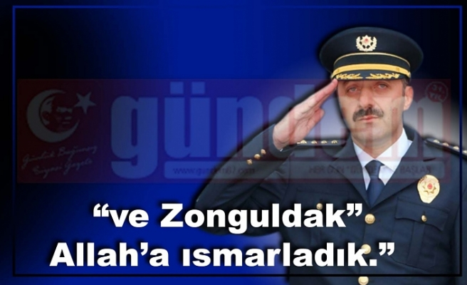 Ahmet Metin Turanlı Zonguldak'a veda etti.