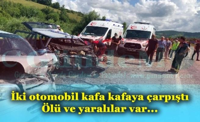 Bartın-Zonguldak Karayolunda Kaza!