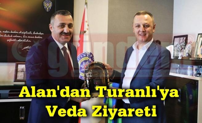 Başkanı Selim Alan, Zonguldak İl Emniyet Müdürü Ahmet Metin Turanlı'ya Veda Ziyaretinde Bulundu.