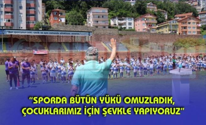 Belediye Başkanı Halil Posbıyık, Yaz Futbol Okulu Sertifika Töreninde Konuştu