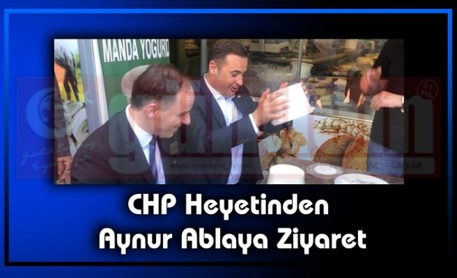 CHP Heyetinden  Aynur Ablaya Ziyaret