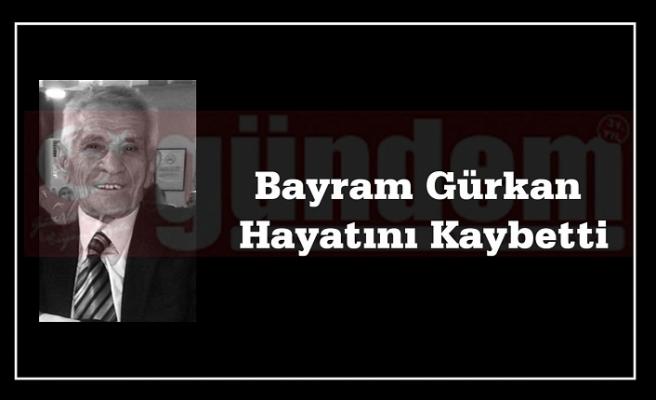 CHP Kdz. Ereğli Eski İlçe Başkanlarından Bayram Gürkan Hayatını Kaybetti.