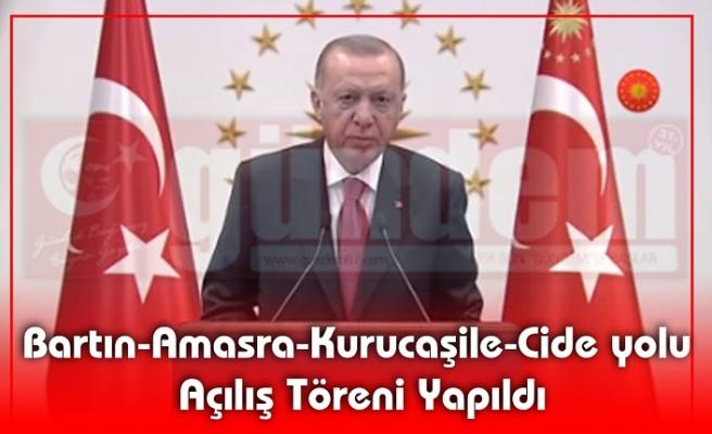 Cumhurbaşkanı Recep Tayyip Erdoğan'ın Ankara'dan Katıldığı Törenle Açıldı