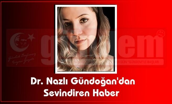 Dr. Nazlı Gündoğan'dan sevindiren haber!