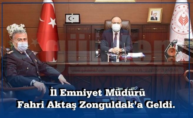 İl Emniyet Müdürü ilk Olarak Zonguldak Valisi Mustafa Tutulmaz'ı ziyaret etti.