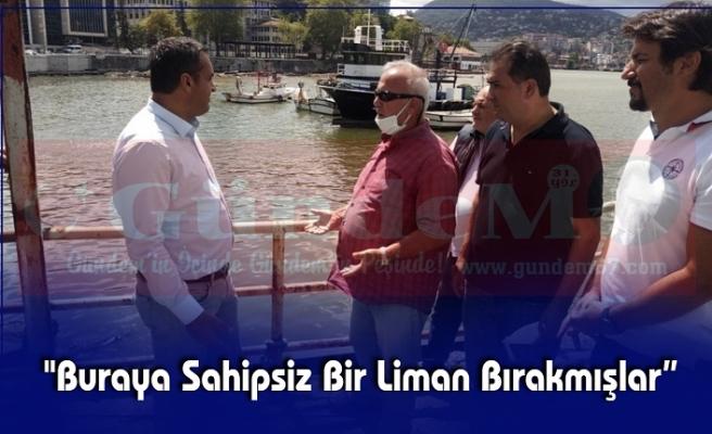 Karadeniz, Zonguldak Limanında Balıkçılarla Bir Araya Geldi