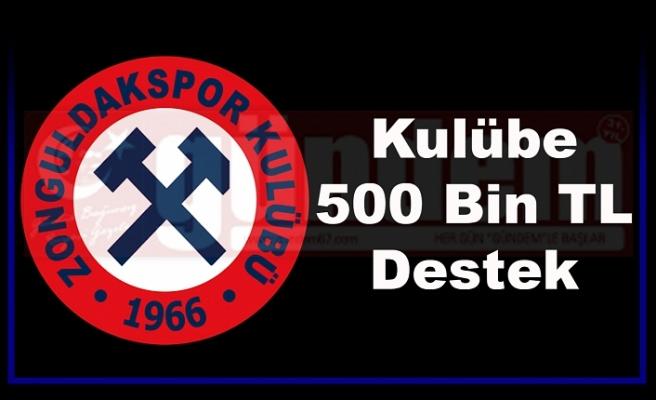 Kömürspor'un Yeni Yönetimi Kulübe 500 Bin TL Destekte Bulundu
