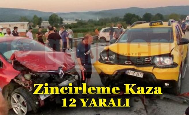 Patoz Makinesinden Çıkan Tozların Sebep Olduğu Kazada 5'i Çocuk 12 Kişi Yaralandı