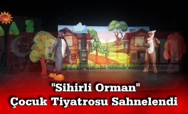 """""""Sihirli Orman"""" İsimli müzikli çocuk tiyatrosu sahnelendi."""