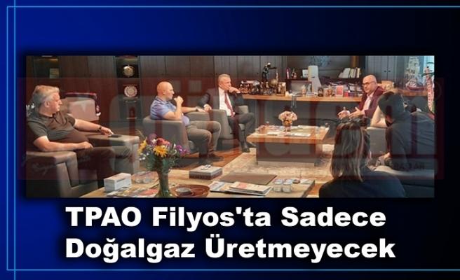 TPAO Yönetim Kurulu Başkanı ve Genel Müdürü Melih Han Bilgin Bülent Kantarcı ile Görüştü