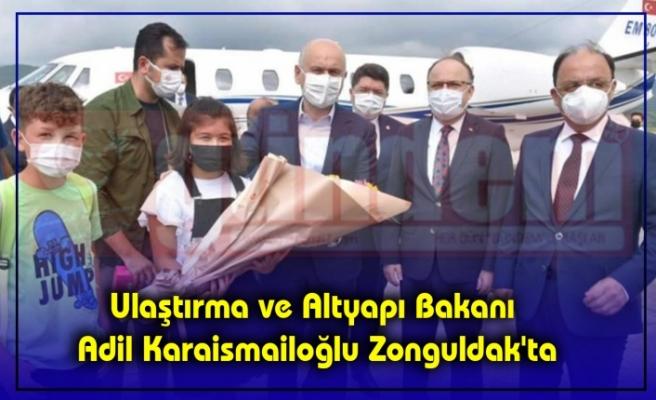 Ulaştırma ve Altyapı Bakanı Adil Karaismailoğlu Zonguldak'ta
