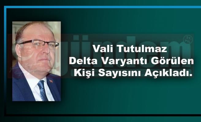 Vali Mustafa Tutulmaz, Kent Genelinde Koronavirüs Durumunu Açıkladı