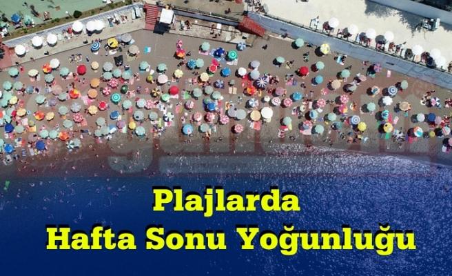 Vatandaşlar Plajlara Akın Etti.