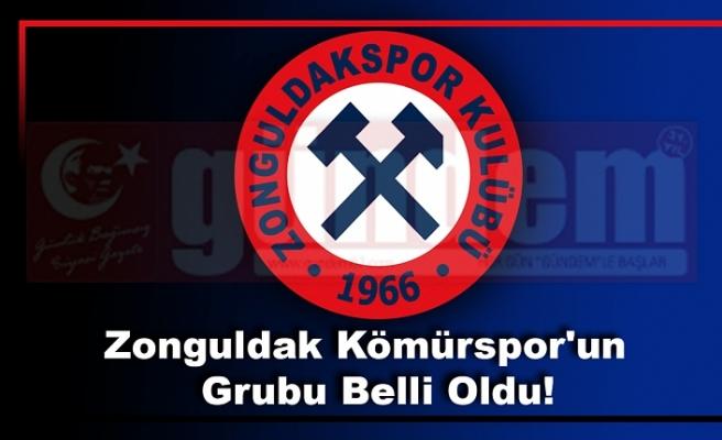 Zonguldak Kömürspor'un  Grubu Belli Oldu!