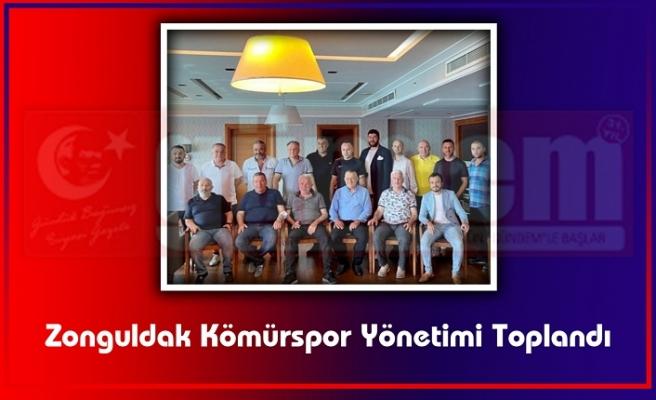 Zonguldak Kömürspor Yönetimi Toplandı