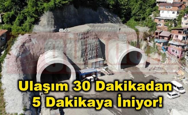 Zonguldak'ta 45 Yıllık Hayal Gerçek Oluyor Ulaşım 30 Dakikadan 5 Dakikaya İniyor!