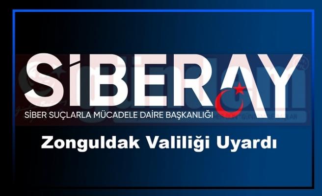 Zonguldak Valiliği Uyardı
