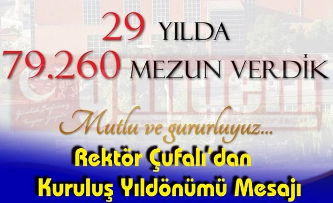 ZonguldakBülent Ecevit Üniversitesi 29. Yaşını Kutluyor!