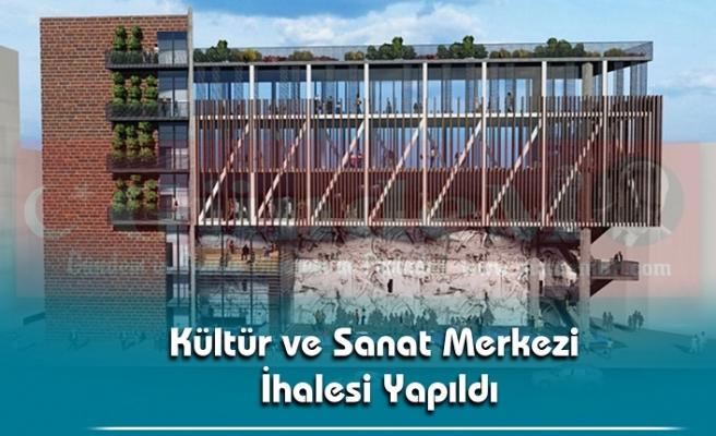 Kültür ve Sanat Merkezi İhalesi Yapıldı.