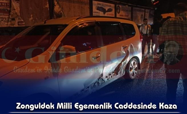 Zonguldak Milli Egemenlik Caddesinde Kaza