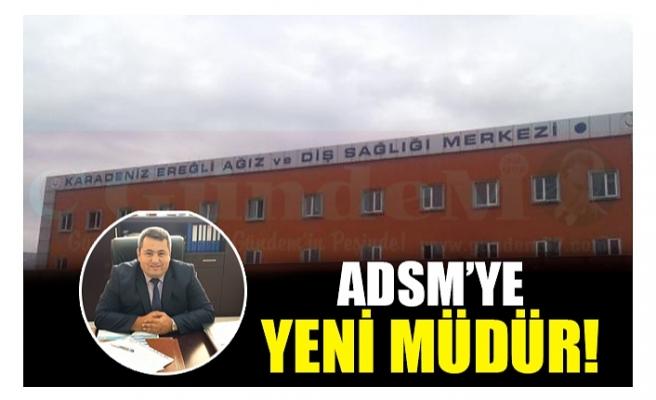 ADSM'YE YENİ MÜDÜR!