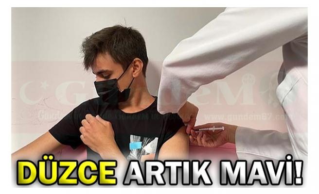 DÜZCE ARTIK MAVİ!