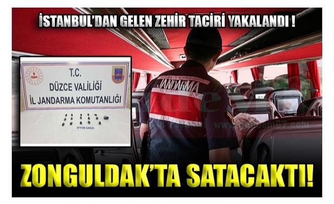 İSTANBUL'DAN GELEN ZEHİR TACİRİ YAKALANDI !