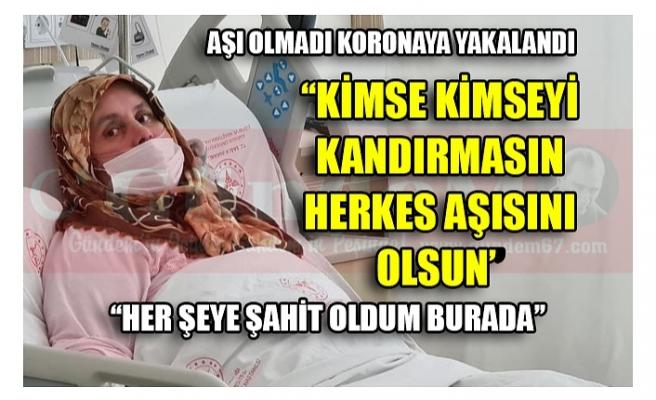 ''KİMSE KİMSEYİ KANDIRMASIN HERKES AŞISINI OLSUN''
