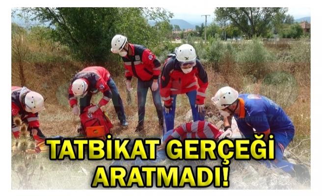 TATBİKAT GERÇEĞİ ARATMADI!