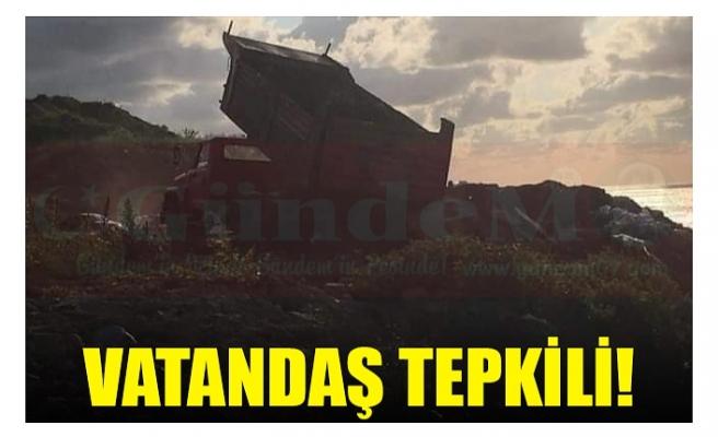 VATANDAŞ TEPKİLİ!