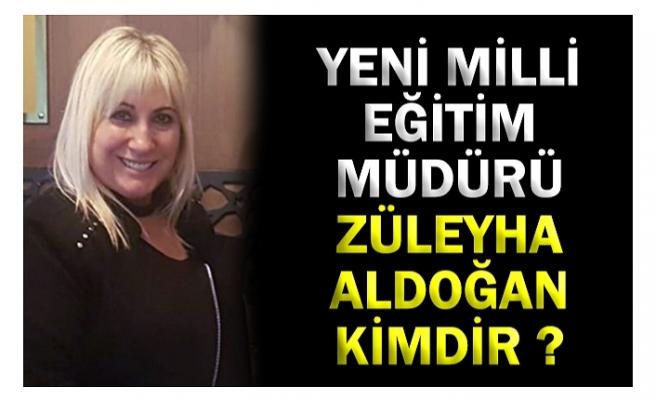 Zonguldak İl Milli Eğitim Müdürlüğü'ne atanan Züleyha Aldoğan kimdir?