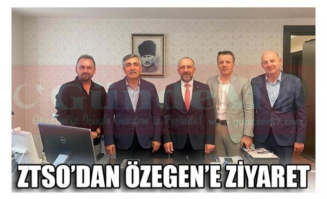 ZTSO'DAN ÖZEGEN'E ZİYARET