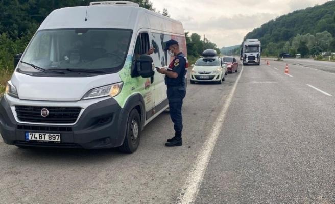 Zonguldak Valiliği'nden salgın denetimi