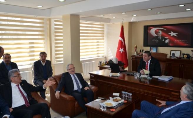 CHP  Genel Başkan Yardımcısı Haluk Koç Alaplı´yı ziyaret etti