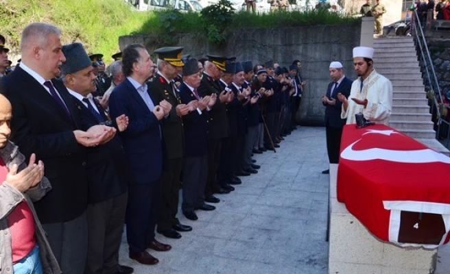 86 yaşında vefat eden Kore gazisi son yolculuğuna uğurlandı