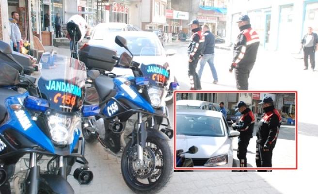 Il genelinde jandarma motorize ekipler kontrollere başladı!