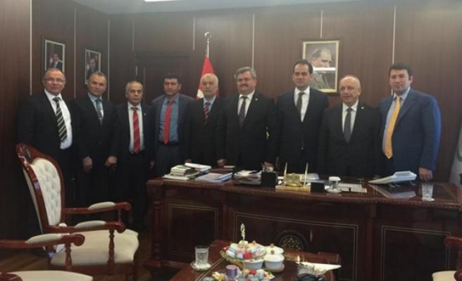 Ak Parti Zonguldak Milletvekillerinden Nusret Yazıcıya ziyaret