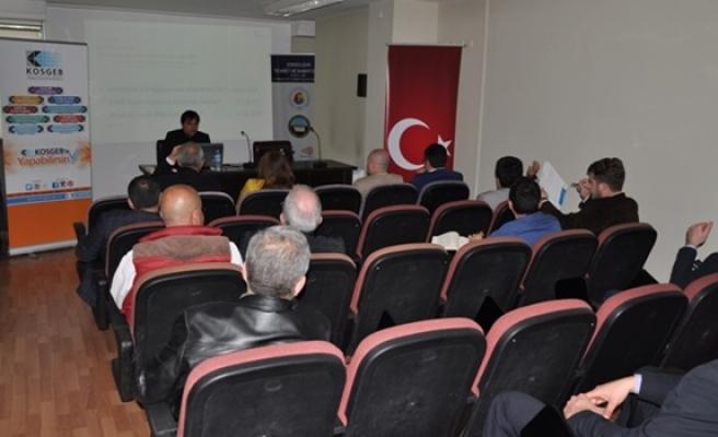 ZTSO üyelerine bilgilendirme toplantısı düzenledi.