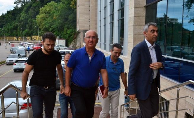 Tuğamiral Hasan Doğan Zonguldak Adliyesi´nde