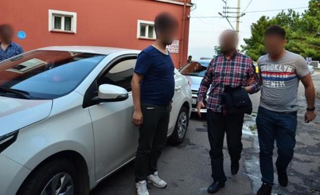 Zonguldak eski emniyet müdürü sağlık kontrolünden geçirildi