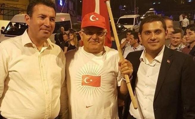 """Karaduman:""""Şehitlerimiz, vatan ve bayrak için nöbete devam ediyoruz"""""""
